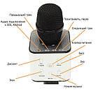 Бездротової Bluetooth караоке-мікрофон Q7 | Чорний, фото 6