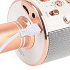 Бездротовий мікрофон WS-858 | Рожевий, фото 4