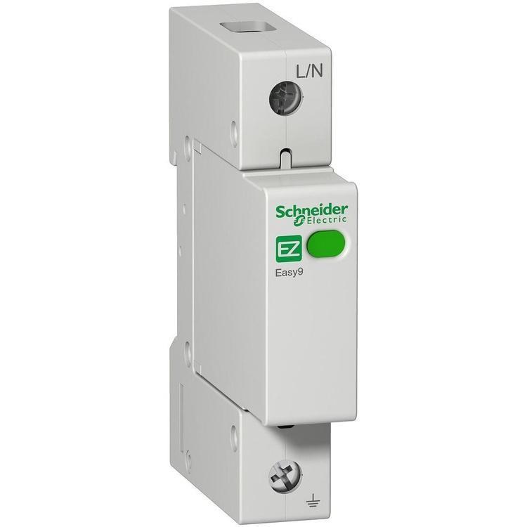 Устройство защиты от импульсных перенапряжений EZ9L33120 Easy9 Schneider 1Р/20кА/10кА/1,3кВ