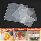 Набор силиконовых пленок для хранения продуктов Stretch and Fresh, фото 5