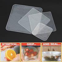 Набор силиконовых пленок для хранения продуктов Stretch and Fresh, фото 6