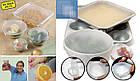 Набор силиконовых пленок для хранения продуктов Stretch and Fresh, фото 3