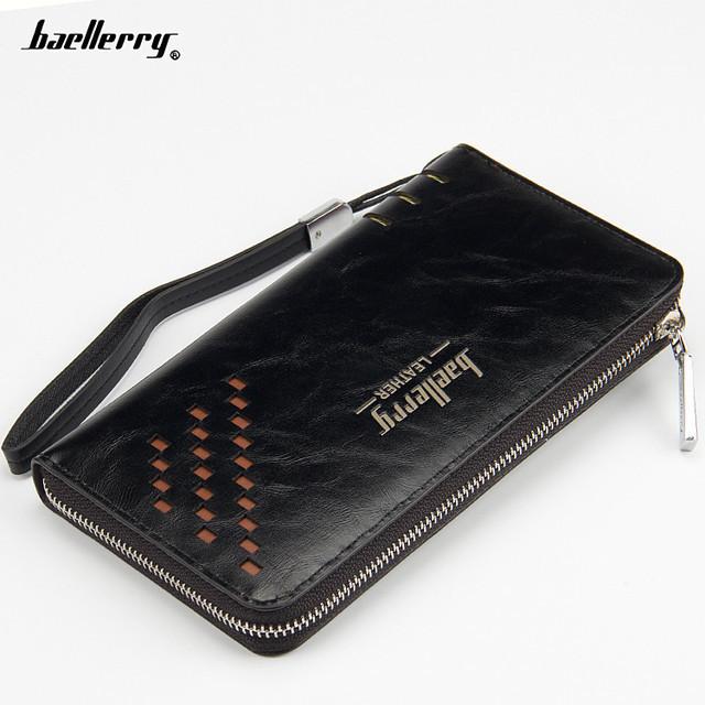 Портмоне Baellerry Leather W009 | Мужской кошелек | Мужской клатч