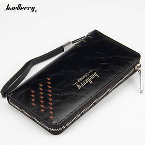 Портмоне Baellerry Leather W009   Мужской кошелек   Мужской клатч