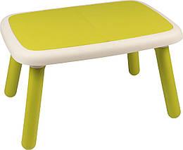 Стол детский пластиковый Smoby Kid, зеленый, 18м+ (880401)