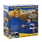 Одеяло-плед с рукавами Snuggle | Теплый плед с рукавами, фото 7