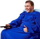 Одеяло-плед с рукавами Snuggle | Теплый плед с рукавами, фото 5