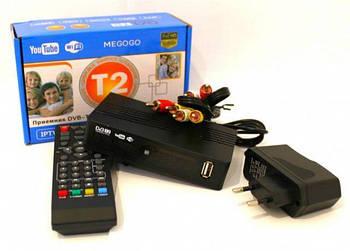 Тюнер DVB T2 Megogo   Цифровая приставка   Ресивер