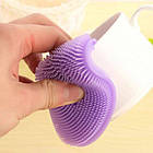 Кухонні силіконові щітки Better Sponge   Набір силіконових щіток для будинку, фото 4