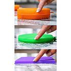 Кухонные силиконовые щетки Better Sponge   Набор силиконовых щеток для дома, фото 8