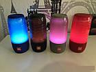 Портативная колонка со светомузыкой JBL Pulse 3 Mini | Синяя, фото 5