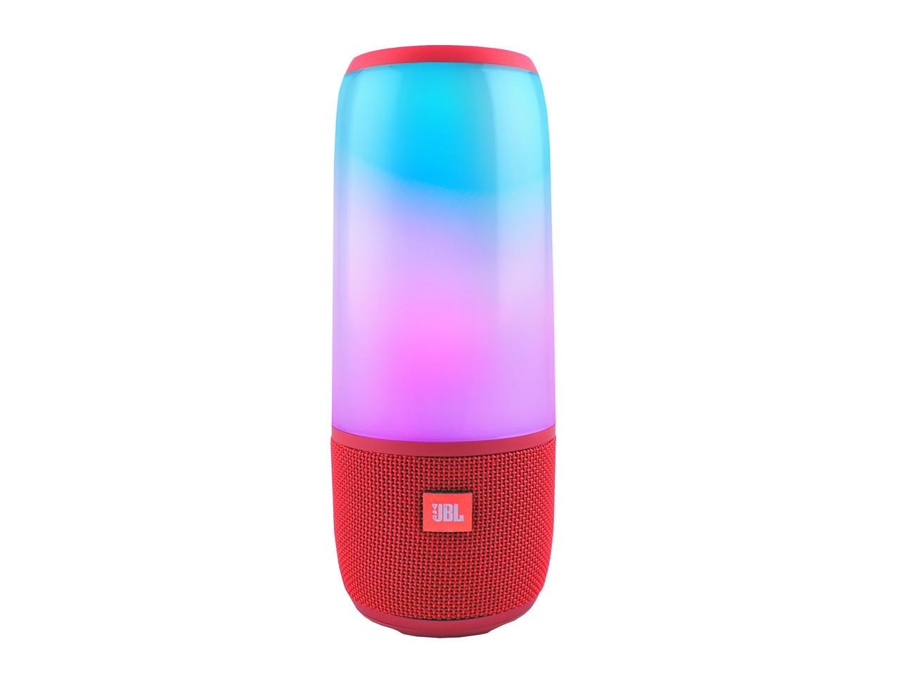 Портативная колонка со светомузыкой JBL Pulse 3 Mini | Красная