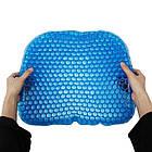 Ортопедическая гельевая подушка для разгрузки позвоночника Egg Sitter | Подушка для сидения, фото 4