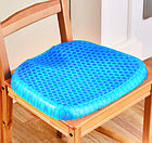Ортопедическая гельевая подушка для разгрузки позвоночника Egg Sitter | Подушка для сидения, фото 5