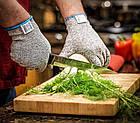 Рукавички від порізів Cut resistant gloves   Захисні рукавиці   Рукавички для кухні, фото 2