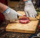 Рукавички від порізів Cut resistant gloves   Захисні рукавиці   Рукавички для кухні, фото 6