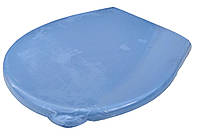 """Сидіння для унітазу пластикове синє """"Горизонт"""", фото 1"""