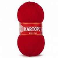 Kartopu kristal - 125 темно червоний