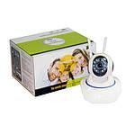 Камера видеонаблюдения WIFI Smart NET camera Q5 | Поворотная сетевая IP-камера, фото 7