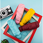 Мини-зонт в капсуле Capsule Umbrella mini | Компактный зонтик в футляре | Бордовый, фото 2