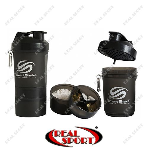 Шейкер SmartShake NEON 600 ml дымчатый