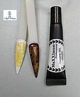 Гель фарба для стемпинга декор дизайн нігтів MaXXImum 7г золото