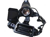 Налобный фонарь X-BALOG BL-2177-T6 2 Li-ion, фото 4