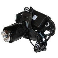 Налобный фонарь X-BALOG BL-2177-T6 2 Li-ion, фото 7
