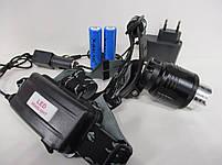 Налобный фонарь X-BALOG BL-2177-T6 2 Li-ion, фото 6