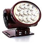 Налобный аккумуляторный фонарь YAJIA YJ-1898, фото 4