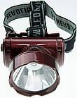 Налобный аккумуляторный фонарь YAJIA YJ-1898-1, фото 5