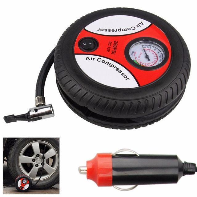 Автомобильный компрессор Air Compressor 260pi | Компрессор насос для шин