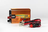 Автомобильный преобразователь напряжения инвертор AC/DC SSK 500W 24V, фото 2