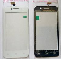 Fly IQ446 тачскрін сенсор білий оригінальний