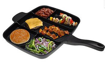 Универсальная сковорода Magic Pan 5 в 1 | Сковородка гриль