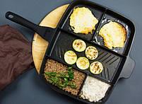 Универсальная сковорода Magic Pan 5 в 1   Сковородка гриль, фото 7