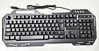 Проводная игровая клавиатура с подсветкой KEYBOARD GK-900, фото 5