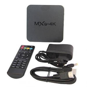 Смарт приставка Android TV BOX MXQ 4k 1GB/8GB | Смарт ТВ