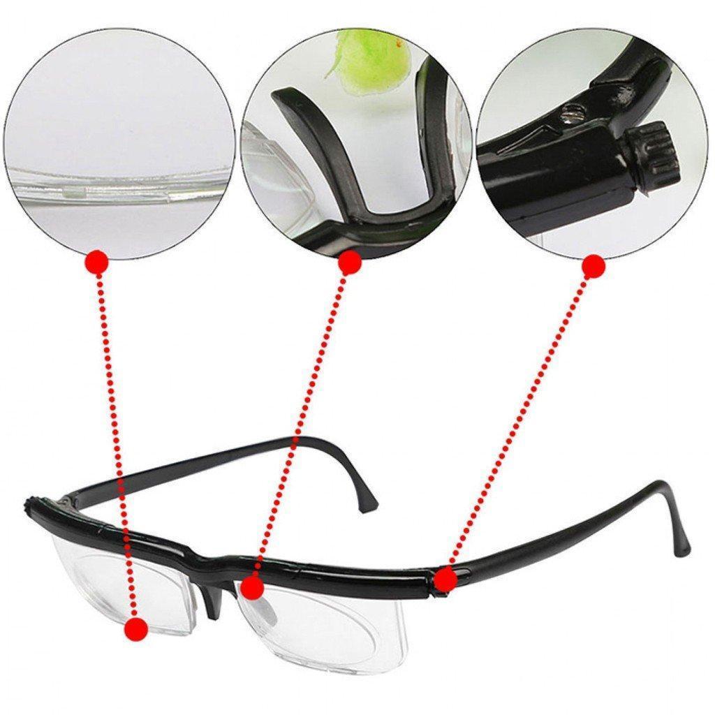 Універсальні окуляри для зору Dial Vision | Окуляри з регулюванням лінз