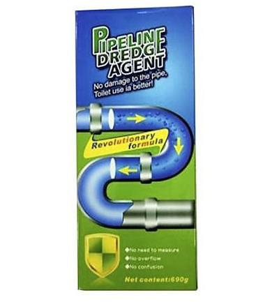Очиститель порошок для труб Pipeline Dredyagent