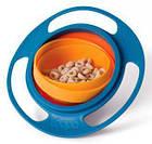 Детская тарелка непроливайка Universal gyro bowl, фото 5