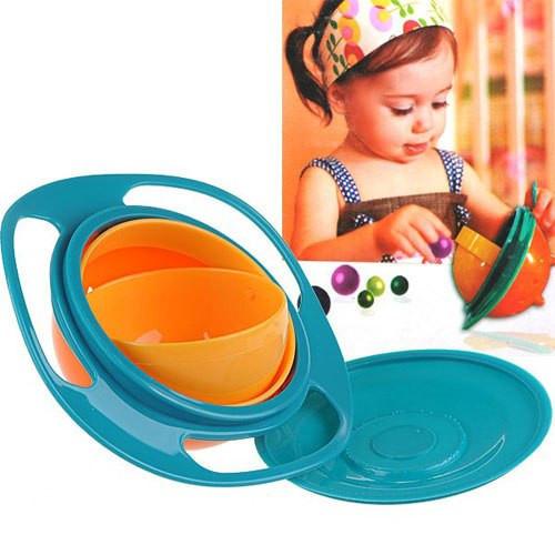 Дитяча тарілка непроливайка Універсальний gyro bowl