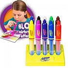 Детские воздушные фломастеры Magic Pens E 018 с подставкой | Аэрограф, фото 7