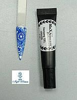 Гель фарба для стемпинга декор дизайн нігтів MaXXImum 7г синій