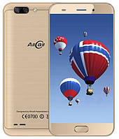 "AllCall Atom 5.2"" 4G 2 GB RAM 16 GB ROM 4 ядра 8MP 2100мАч Android 7.0 Gold, фото 1"