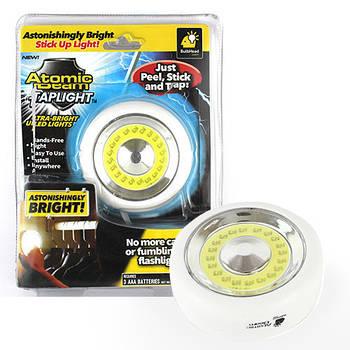 Универсальный светильник подсветка Atomic Beam Tap Light   Точечный светильник