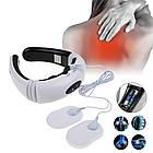 Электростимулятор массажер для шеи физиотерапия Cervical vertebra Neck Massager KL-5830, фото 3