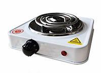 Электроплита настольная Domotec MS-5801 | Однокомфорочная спиральная плита, фото 3