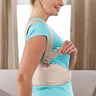 Жіночий магнітний корсет коректор постави Royal posture woman | Коректор постави, фото 6