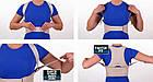 Жіночий магнітний корсет коректор постави Royal posture woman | Коректор постави, фото 8
